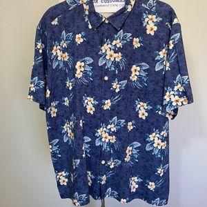 Men's Tommy Bahama Blue Hawaiian Camp Shirt XXL